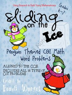 Sliding on the Ice - CGI Math Word Problems - Have you tried Cognitively Guided Instruction