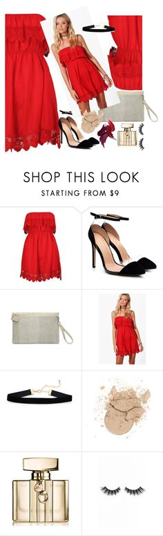 """""""Untitled #379"""" by alibasicelma ❤ liked on Polyvore featuring Boohoo, Gucci and Violet Voss"""