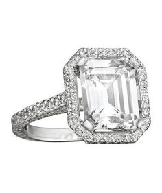 From asscher to round, take a peek at the elegant options for engagement rings.
