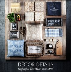 Block & Chisel | Decor Details - Highlights this week