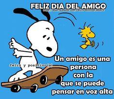 Feliz Día del Amigo! Un amigo es una persona con la que se puede pensar en voz…