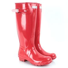 Ideas Boots Red Hunter Christmas Gifts For 2019 Red Wellington Boots, Red Hunter, Black Uggs, Hunter Rain Boots, Clearance Shoes, Designer Boots, Casual Boots, Vintage Outfits, My Style