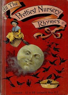 All the prettiest nursery rhymes, book cover