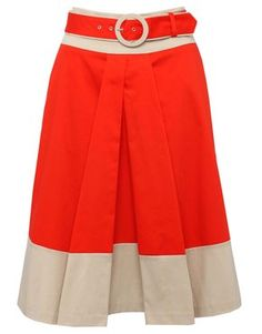 MCo Belted full skirt