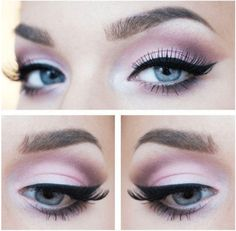Soft Pink Makeup | 7 Spring Makeup Looks To Inspire You, check it out at http://makeuptutorials.com/spring-makeup-looks-makeup-tutorials
