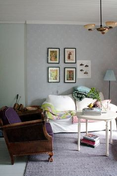 Upholstery, Gallery Wall, Lily, Couch, Traditional, Living Room, Lifestyle, Architecture, Furniture