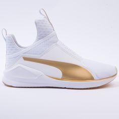 Puma Fierce Gold (White-Gold) con envío gratis