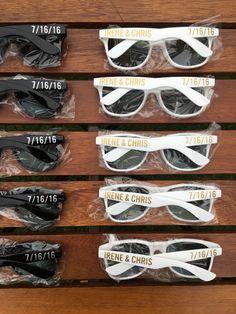 50 ADULT Personalized Sunglasses Destination Wedding Favor