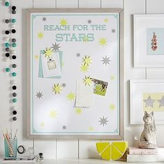 Reach for the Stars Magnetic Wall Art #pbteen