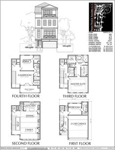 37 Best Townhome Floor Plans and Elevations images   Floor plans ...
