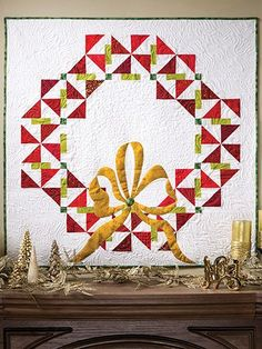 A Quilter's Wreath P