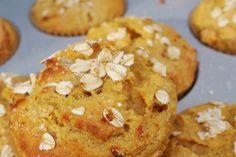 Muffins faits au mélangeur, allez-y pour l'avoine et la banane