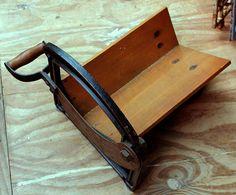 Antique Bread Slicer Cast Iron, Gadgets, Bread, Cool Stuff, Antiques, Unicorns, Vintage, Kitchen, Home Decor
