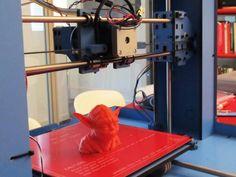 Las impresoras 3D podrán imprimir los componentes de los ciborgs del futuro.