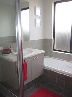 My Kids Bathroom red & grey LeanneR