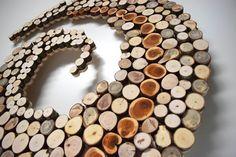 Spirale di legno