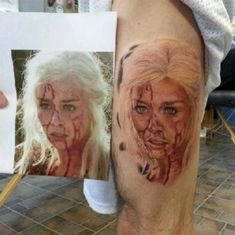 "31 Incredible ""Game Of Thrones"" Tattoos"