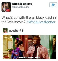 THE WIZ MOVIE WAS A CHANCE FOR A BUNCH OF LIT BLACK PEOPLE TO FINALLY SHOW THE WORLD RHEIR SHITE EVEN THOUGHT IT WAS REALLY CRINGEY. SHUT UP.