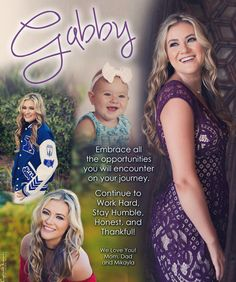 Senior ad design for yearbook - Scottsdale portrait photographer Senior Yearbook Ideas, Senior Year Quotes, Senior Ads, Yearbook Pages, Graduation Card Sayings, Graduation Message, Yearbook Messages From Parents, Proud Parent Quotes, Message To Daughter