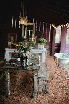 French Farm Inspired Photo Shoot from Kristyn Hogan + Cedarwood Weddings Gallery - Style Me Pretty Farm Wedding, Wedding Designs, Wedding Inspiration, Wedding Ideas, Outdoor Living, Sweet Home, Dining Table, Photoshoot, Table Decorations