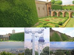 Montjuic Castle - Highlights of Barcelona – The Girls Who Wander The Girl Who, Wander, Highlights, Barcelona, Spain, Castle, Mansions, House Styles, Building