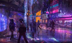 Some Cyberpunk Artworks from around the web - Album on Imgur
