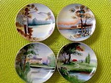 Ucagco Ceramics Handpainted Decorative Set of 4 Vintage 4 Inch Plates & Barns\u0027 1998 Warren Kimble Decorative Plates Set Of 4 | ebay | Pinterest