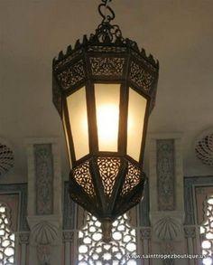 Кованый светильник №124
