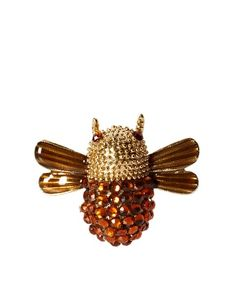 Johnny Loves Rosie Bee Brooch
