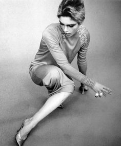 Edie Sedgwick by Fred Eberstadt,1965.