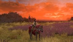 Sunset in Rohan