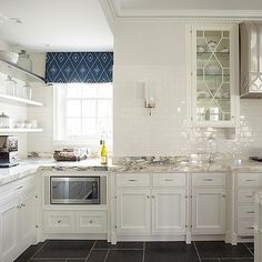 Subway Tiled Backsplash