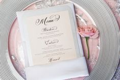 Silver and pink wedding | L'Estelle Photography