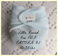 One Size Cloth Diaper Pattern  Little Round One No by 31Rubies, $5.00
