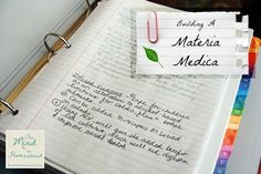 Building a Materia Medica - The Mind to Homestead