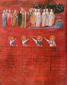 The Proverb. Calabria-Arte e Cultura-Codex Purpureus Rossanensis-Tav.4