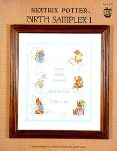 JOY TO ALL: Birth Sampler #Beatrix Potter