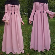 Likes, 8 Comments - Fatmanur ( _) . Hijab Fashion Summer, Abaya Fashion, Modest Fashion, Fashion Dresses, Fashion Fashion, Fashion Ideas, Vintage Fashion, Abaya Mode, Mode Hijab