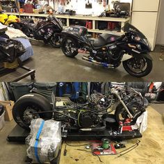 We're looking forward to having Ben Knight Racing completely dressed in carbon fiber this year. Both of these rides will have complete MMS carbon bodywork for 2017.  #carbon #carbonfiber #carbonporn #motorcycles #racing #motorsports #dragracing #badass #custom #bkr #mms #montgomerymotorsports