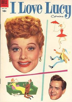 I Love Lucy comic.... No Really, I LOVE LUCY!!! Best show ever!!!