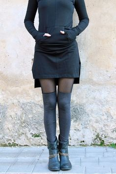 Sheer Leggings Women Leggings Lace Leggings Grey by Picarona