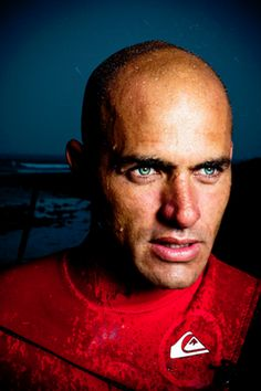 Kelly Slater (February 11, 1972-)  In his first full year on the tour, at age 21, Kelly Slater solidified the hype by claiming the world title