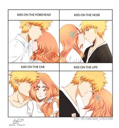 Glorious O-O Cartoon Ships, Anime Ships, Bleach Manga, Ichigo E Orihime, Nick And Judy Comic, Bleach Pictures, Bleach Couples, Cute Anime Character, Narusaku