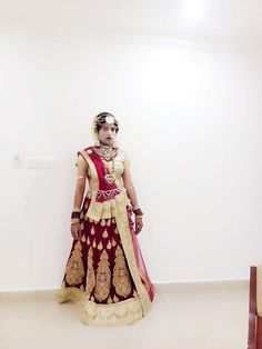 Indian bride with Ghagra choli