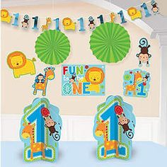 Fun to Be One Boy Party Supplies and Ideas | WholesalePartySupplies.com