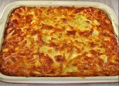 Cookbook Recipes, Cooking Recipes, Pavlova, Lasagna, Side Dishes, Deserts, Food And Drink, Pizza, Cheese