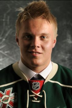 Mikael Granlund with the MN Wild! I just don't know what it is about Finnish hockey boys! <3