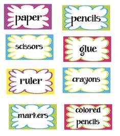 Tips for missing supplies plus FREE printable