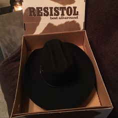 Resistol George Strait Cowboy Hat Never worn so like new! Originally bought  for  300 and ef7c7b845d0f
