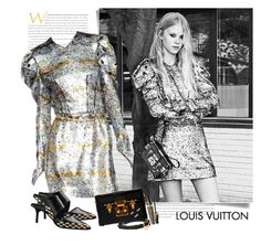 """""""Louis Vuitton FW 2015/16"""" by sella103 ❤ liked on Polyvore featuring mode, Louis Vuitton et Bourjois"""